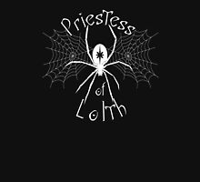 D&D Tee - Priestess of Lolth Women's Fitted V-Neck T-Shirt