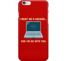 Character Building - Valentine Hacker iPhone Case/Skin