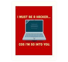 Character Building - Valentine Hacker Art Print