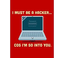 Character Building - Valentine Hacker Photographic Print