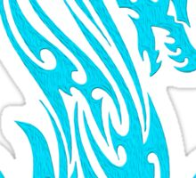 Dragon 19 cyan  Sticker