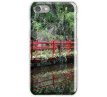 Magnolia Plantation - Red Bridge iPhone Case/Skin