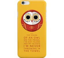 Owl on the Prowl iPhone Case/Skin