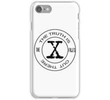 X-Files The Truth Is Out There iPhone Case/Skin