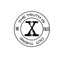 X-Files The Truth Is Out There Photographic Print