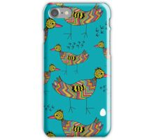 Colorful birds iPhone Case/Skin