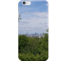 London City through the trees iPhone Case/Skin