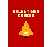Character Building - Valentines cheese Photographic Print
