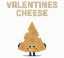 Character Building - Valentines cheese One Piece - Long Sleeve