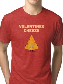 Character Building - Valentines cheese Tri-blend T-Shirt