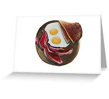 Breakfast Greeting Card