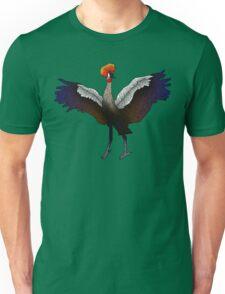 Crowned Crane Unisex T-Shirt