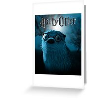 Harry Otter Greeting Card