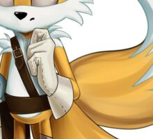 """Miles """"Tails"""" Prower Sticker"""