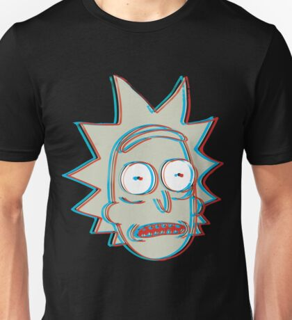 Rick and Morty: 3D Rick Version 2 Unisex T-Shirt