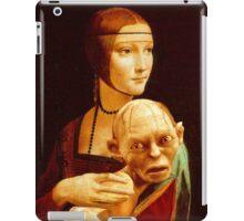 Lady with Gollum iPad Case/Skin