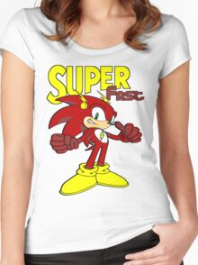 Super Fast Women's Fitted Scoop T-Shirt