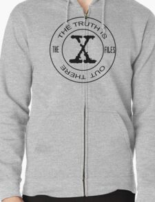 X-Files The Truth Is Out There Zipped Hoodie