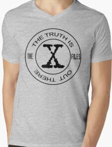 X-Files The Truth Is Out There Mens V-Neck T-Shirt