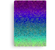Glitter Star Dust Canvas Print