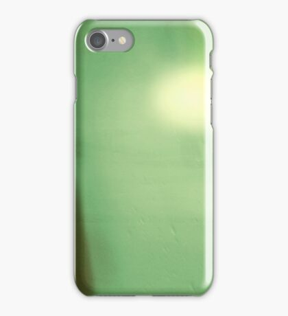 Green Abstract Modern Landscape, #redbubble iPhone Case/Skin