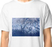 Space Station Flyover of British Columbia's Coast Mountains Classic T-Shirt