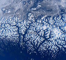 Space Station Flyover of British Columbia's Coast Mountains by wrstscrnnm6