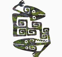 Aztec/Mayan Figure Moss Unisex T-Shirt