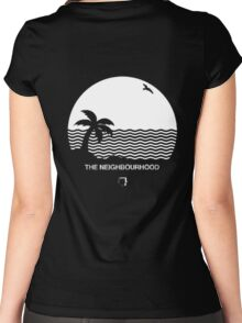 Wiped Out! by The Neighbourhood Women's Fitted Scoop T-Shirt