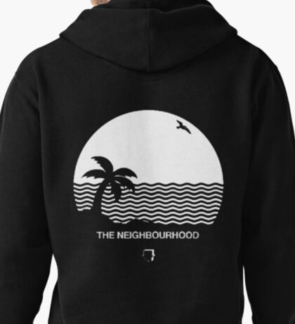 Wiped Out! by The Neighbourhood Pullover Hoodie