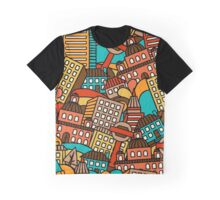 Town pattern  Graphic T-Shirt