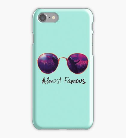 Almost Famous iPhone Case/Skin