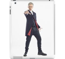 The 12th Doctor - Peter Capaldi (Doctor Who) iPad Case/Skin