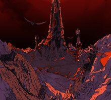 Lord of the Rings Sauron by SinisterSix