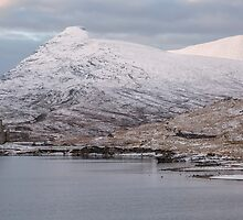 Ardvreck Castle in Winter by derekbeattie