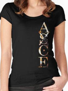 Ace One Piece Women's Fitted Scoop T-Shirt