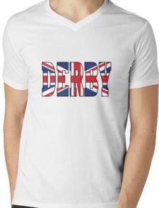 Derby Mens V-Neck T-Shirt