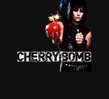 Joan Jett Cherry Bomb Womens Fitted T-Shirt
