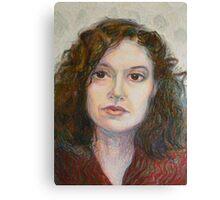 Ann - Portrait Of A Woman Canvas Print