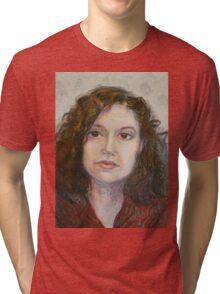 Ann - Portrait Of A Woman Tri-blend T-Shirt
