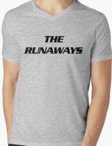 The Runaways Logo Mens V-Neck T-Shirt