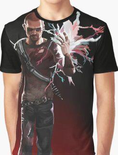 Infamous Evil Cole Mcgrath painting. Graphic T-Shirt