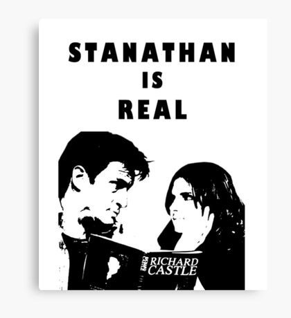 Stanathan always Canvas Print