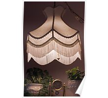 Hand Stitched Swag Lamp Shade Poster