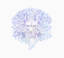 Majestic Pastel Blue Purple Hiding Fox Unisex T-Shirt