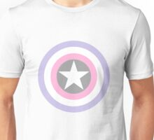 Cupiosexual pride shield Unisex T-Shirt