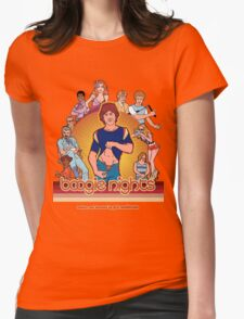Boogie Nights Womens Fitted T-Shirt