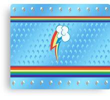 My little Pony - Rainbow Dash Cutie Mark V4 Canvas Print