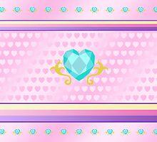 My little Pony - Princess Cadence Cutie Mark V4 by ariados4711