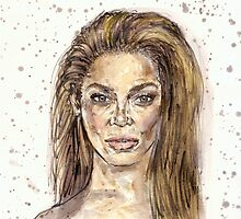 Beyonce is Crazy in LOVE by Notsniw Art